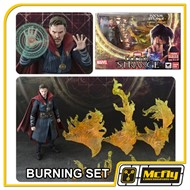 S.H Figuarts Doctor Strange Burning Set DX BANDAI