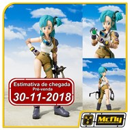 (RESERVA 10% DO VALOR) S.H Figuarts Bulma Dragon Ball Z 30/11