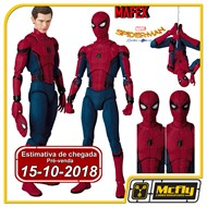 (RESERVA 10% DO VALOR) MAFEX 047 SPIDER MAN HOMECOMING Ver Tom Holland