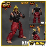Street Fighter Ken Storm Collectibles Action Figure