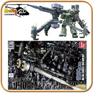 Gundam 1/144 Hg Thunderbolt Ms-06 Zaku Ii + Big Gun Set Mode