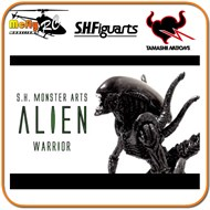 ( Promoção) S.h.monster Arts Alien Warrior Figuarts Alien Vs Predador