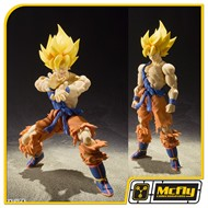 S.H. Figuarts Dragon ball Z Son Goku Super Warrior Awakening Ver. Damaged ( caixa amassada)