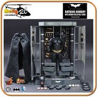 Hot Toys The Dark Knight Batman Armory With Batman Mms234