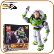 Revoltech Boneco Buzz Lightyear Toy Story 3  Disney Pixar