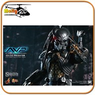Hot Toys Predador Celtic Alien Vs Predator Avp Mms221