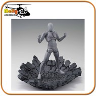 Display Effect Impact Gray Bandai Figuarts Dragon Ball Cdz