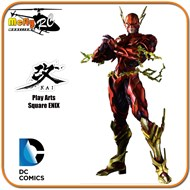 Flash Play Arts Variant Square Enix Dc Comics Liga