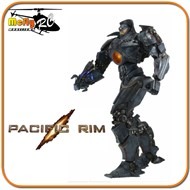 GIPSY DANGER Plasma Cannon Battle Damage Pacific Rim NECA