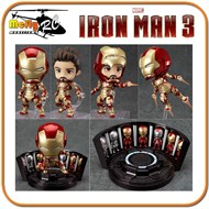 Iron Man Mark 42 Heros Edition + Hall Of Armor Ñ Hot Toys