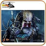 Hot Toys Scar Predator Alien Vs Predator Avp 1/6 Predador