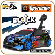 Carro Hpi Micro Rs4 Ken Block 2.4ghz Ford Fiesta Hpi111224