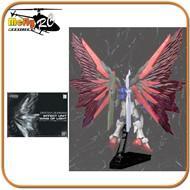 Gundam 1/144 RG Destiny  Effect Unit Wing of Light Exclusive Set