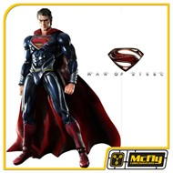 Super Man Homem de Aço Play Arts Square Enix Man Of Steel