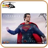 Hot Toys Superman Man Of Steel + Kryptonian Henry Cavil 1/6