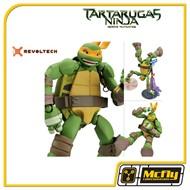 Revoltech Michelangelo Tartarugas Ninjas Heloris Mutantes Turtles