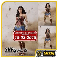 (RESERVA 10% DO VALOR)S H Figuarts Justice League Wonder Woman