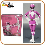 S.H Figuarts Power Ranger Rosa Pteraranger (Japones) CAIXA AMASSADA