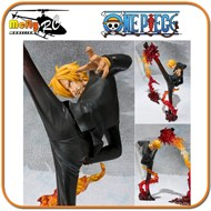Figuarts Zero Sanji Battle Version Bandai Tamashi One Piece