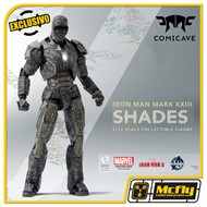 Comicave Iron Man Shades Mark XXIII 1/12 EXCLUSIVO MCFLY