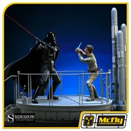 Sideshow Luke Skywalker VS Darth Vader on Bespin Diorama