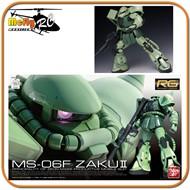 Gundam 1/144 RG #04 MS-06F Zaku II Model Kit