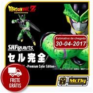 (Reserva 10% do valor)Frete Grátis S.F Figuarts Perfect Cell Premium Color edition Dragon Ball Z 30/04