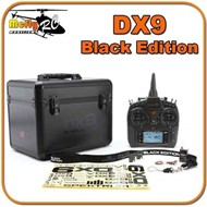 Radio Spektrum Dx9 Black Edition + Maleta + Ar902 Dsm2 Dsmx