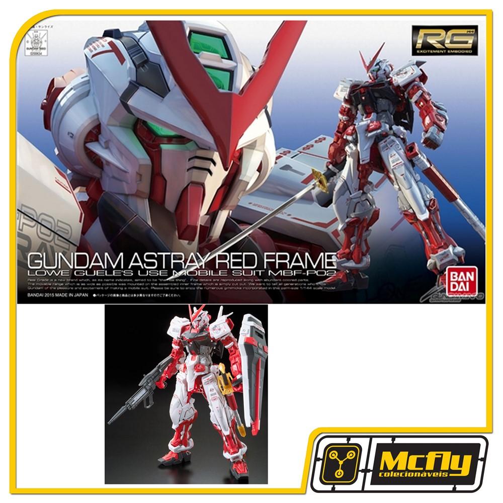 Gundam 1/144 RG #19 Gundam Astray Red Frame Model Kit Bandai