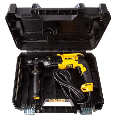 Martelete perfurador / rompedor 800 watts 220v velocidade variável e reversível sds-plus - D25133K - Dewalt