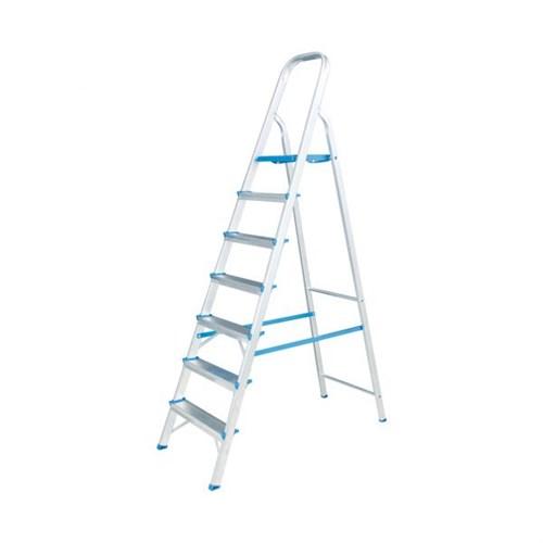 Escada Doméstica Alumasa Alumínio 07 degraus - ER7