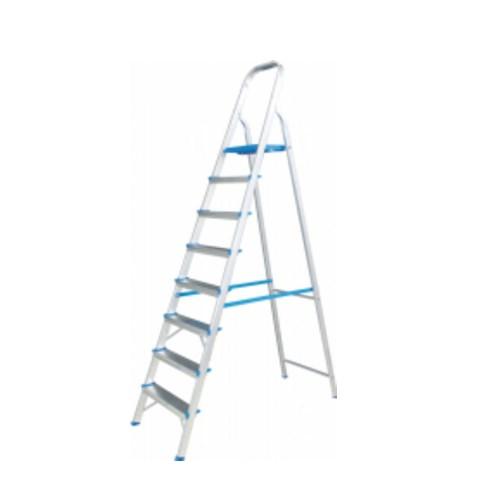Escada Doméstica Alumasa Alumínio 08 degraus - ER8