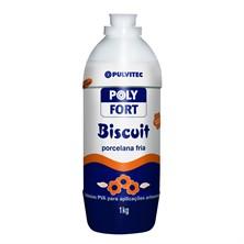 Adesivo Cola Poly Fort Biscuit Porcelana Fria 1kg - Pulvitec