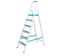 Escada Doméstica Alumasa Alumínio 06 degraus - ER6