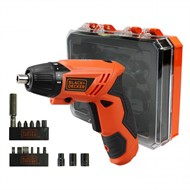 Parafusadeira à bateria 4,8 volts c/ kit bivolt - KC4815K - Black & Decker