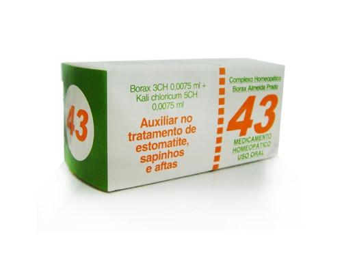 N° 43 Estomatite - Almeida Prado