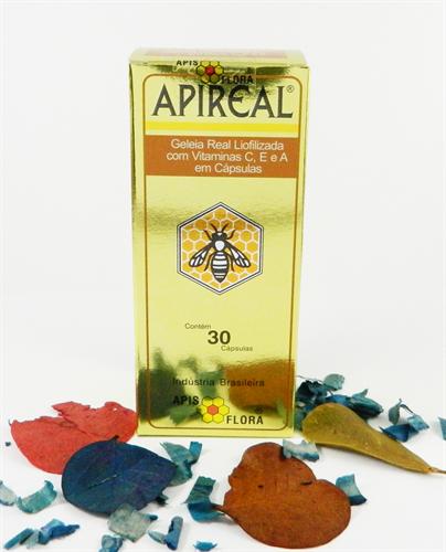 APIREAL GELEIA REAL - 30 CÁPSULAS - APIS FLORA