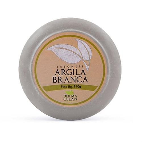 Sabonete Argila Branca 110g - Derma Clean