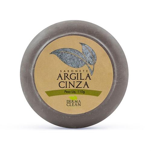Sabonete Argila Cinza 110g - Derma Clean