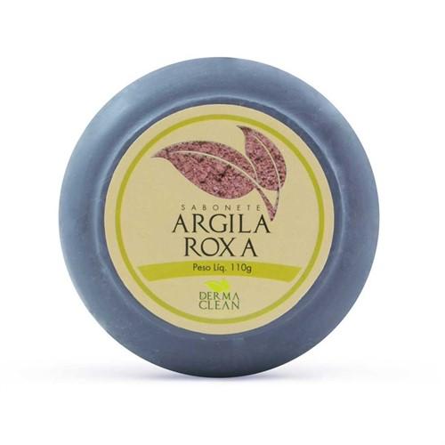 Sabonete Argila Roxa 110g - Derma Clean