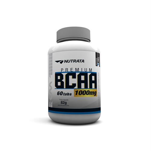BCAA 1000 Nutrata 60 tabletes