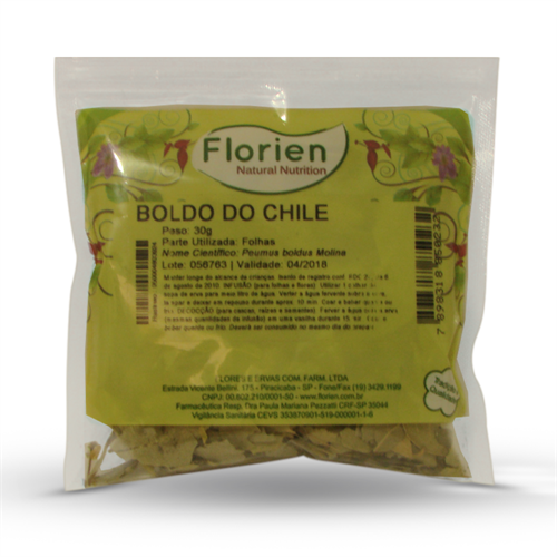 Chá de Boldo do Chile 30g - Florien