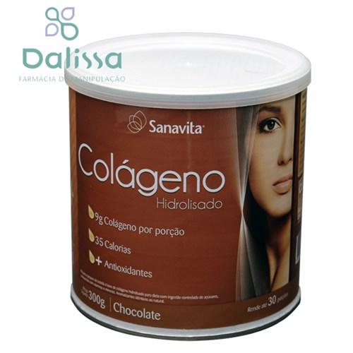 Colágeno Hidrolisado Chocolate 300g Sanavita®