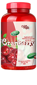 Cranberry 500mg - Chá Mais