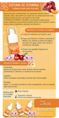 Espuma de Vitamina C 50ml