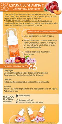 Espuma de Vitamina C 50ml