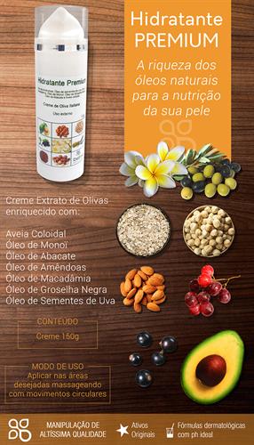 Hidratante Premium 150g