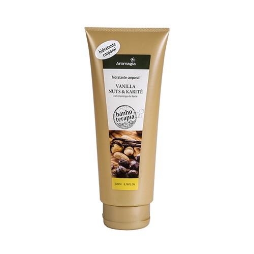 Hidratante corporal - Vanilla nuts e Karité - Aromagia