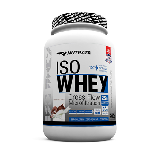 Iso Whey Chocolate Nutrata 900g