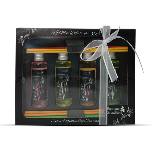 Kit mini difusores LEAF - Boutique de Aromas